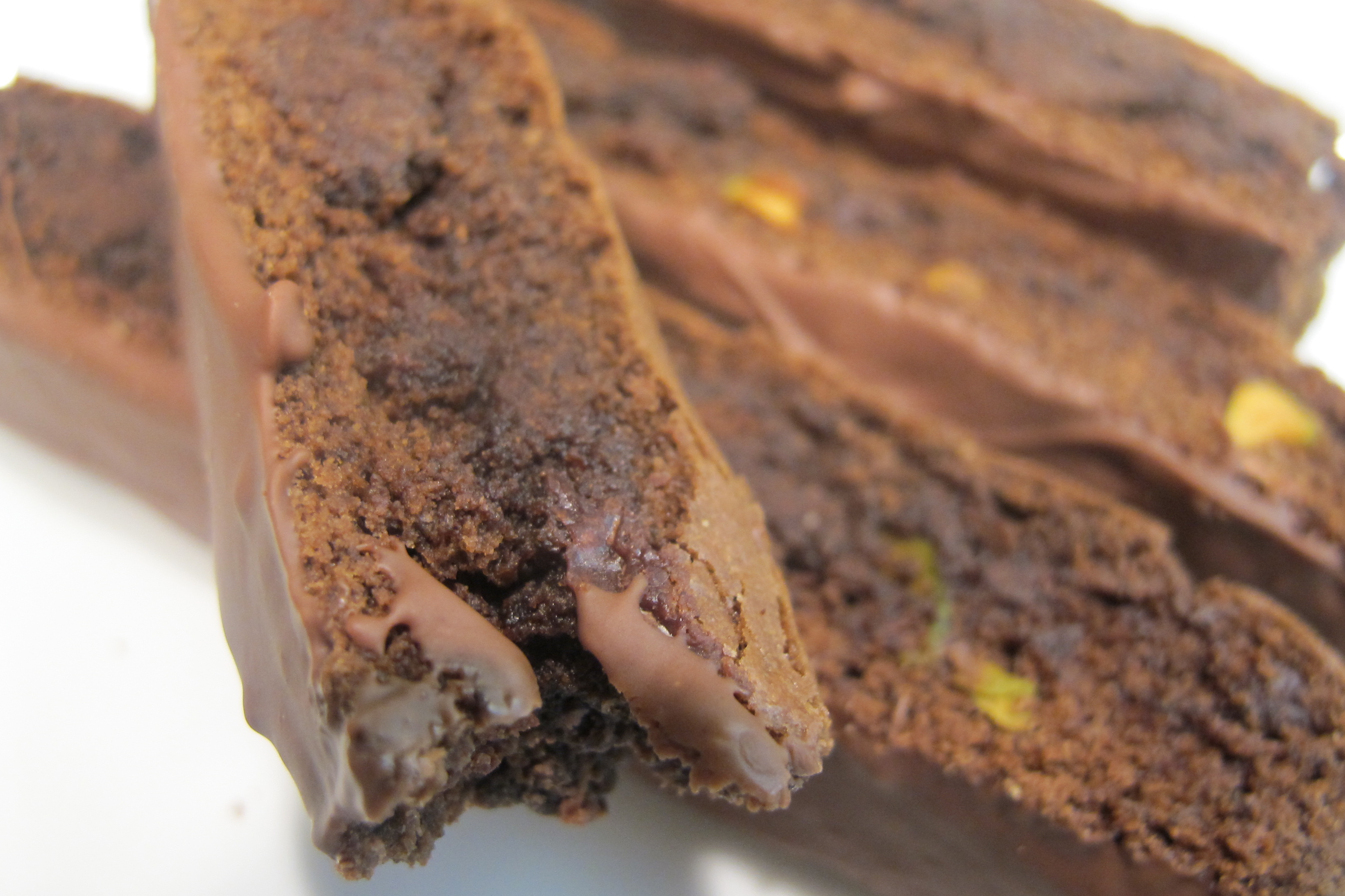 Double Chocolate Pistachio Biscotti