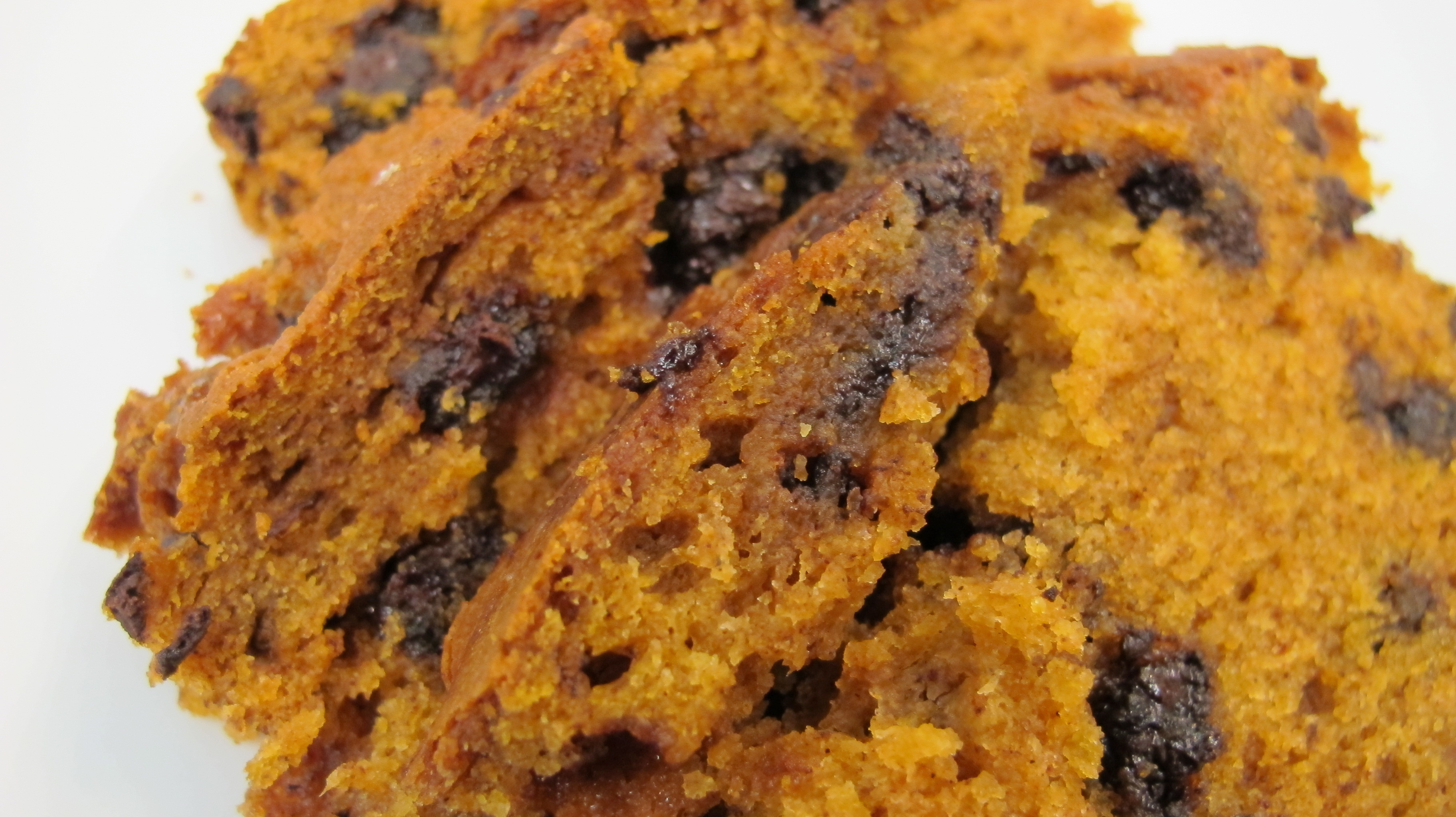 Chocolate Chip Pumpkin Bread |