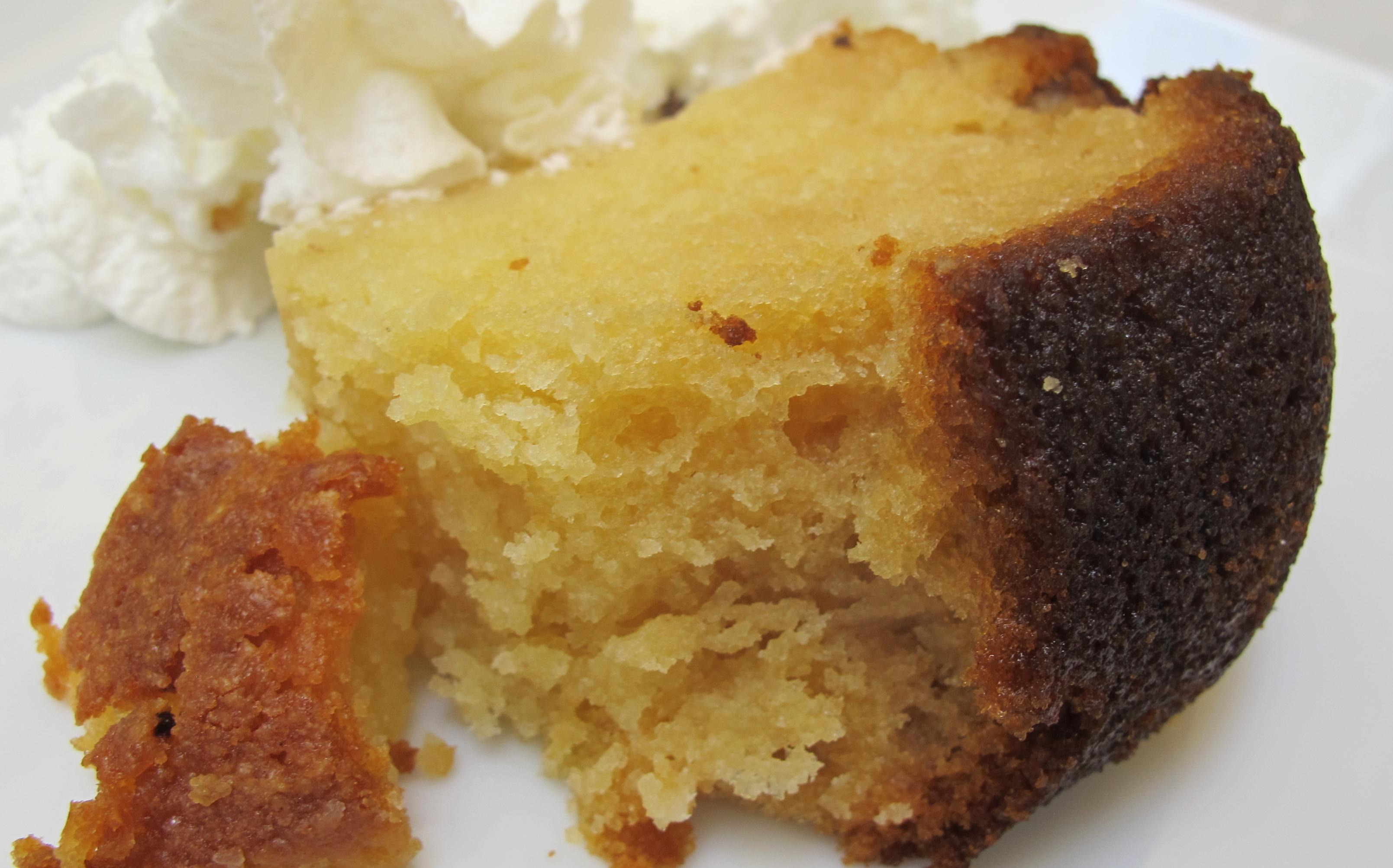 Butter Pecan Rum Cake |